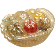 Fruit Basket Celluloid Brooch