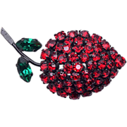 Made in Austria Fruit Brooch