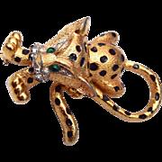Jomaz Baby Leopard Brooch