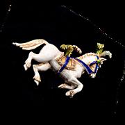 Florenza Prancing Horse Brooch