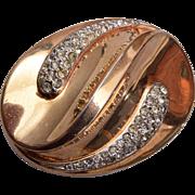 1049 Trifari Fur Clip Brooch Patent 151554