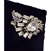 Eisenberg Original Sterling Brooch
