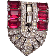 KTF 1936 Trifari Clipmate Dress Clip
