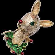 Gerrys Rudolph Christmas Brooch