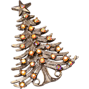 Tancer II Christmas Tree Brooch