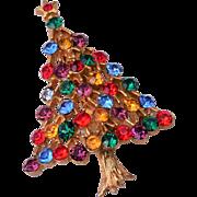 JJ Christmas Tree Brooch