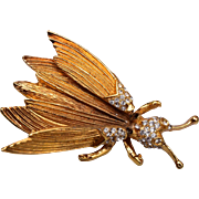 Hattie Carnegie Trembler Bug Brooch