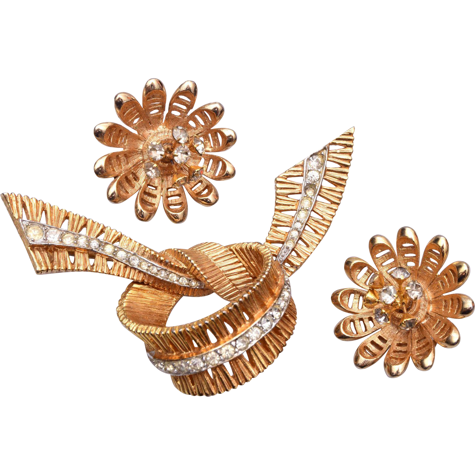 Jomaz Brooch and Earring Set – 1946-1981