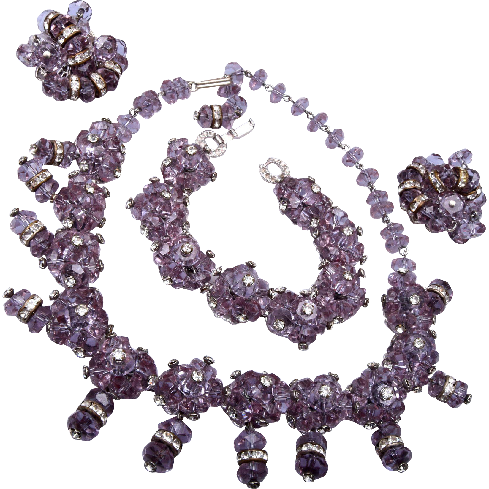 Magnificent Alexandrite Color Change Parure!