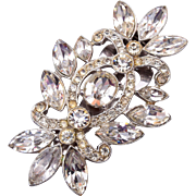 Beautiful Sparkly Rhinestone Dress Clip