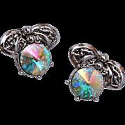Judy Lee Rivoli Crystal Earrings