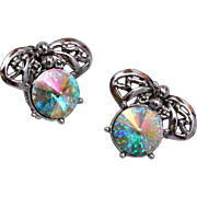 Judy Lee Rivoli Crystal Earrings