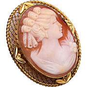 Cameo Pendant or Brooch