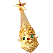 Mylu Christmas Santa Brooch
