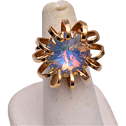Sarah Coventry Opalescent Adjustable Ring