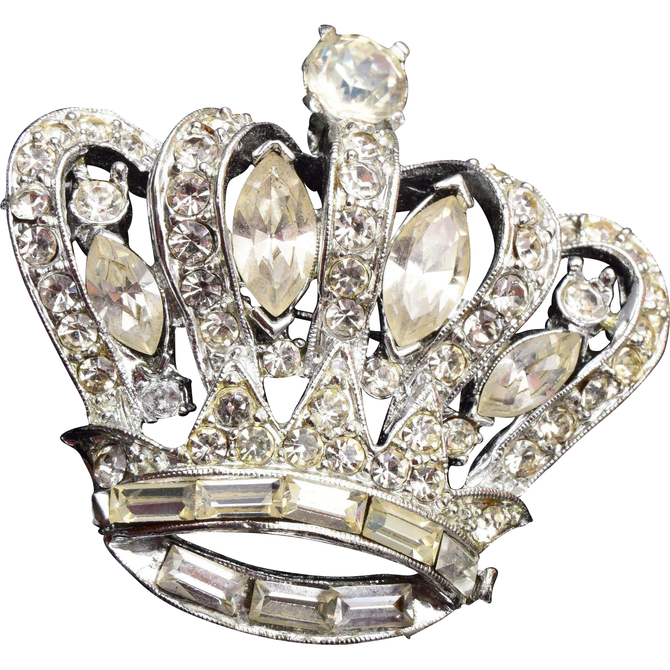 Pell Crown Brooch