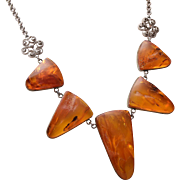 Gorgeous Natural Amber Necklace