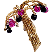 Hobe Crystal Tree Brooch