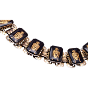 Reversed Carved Indian Princess Bracelet