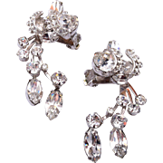 Eisenberg Drippy Rhinestone Earrings