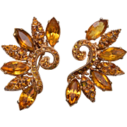 Marvella Topaz Colored Dress Clips