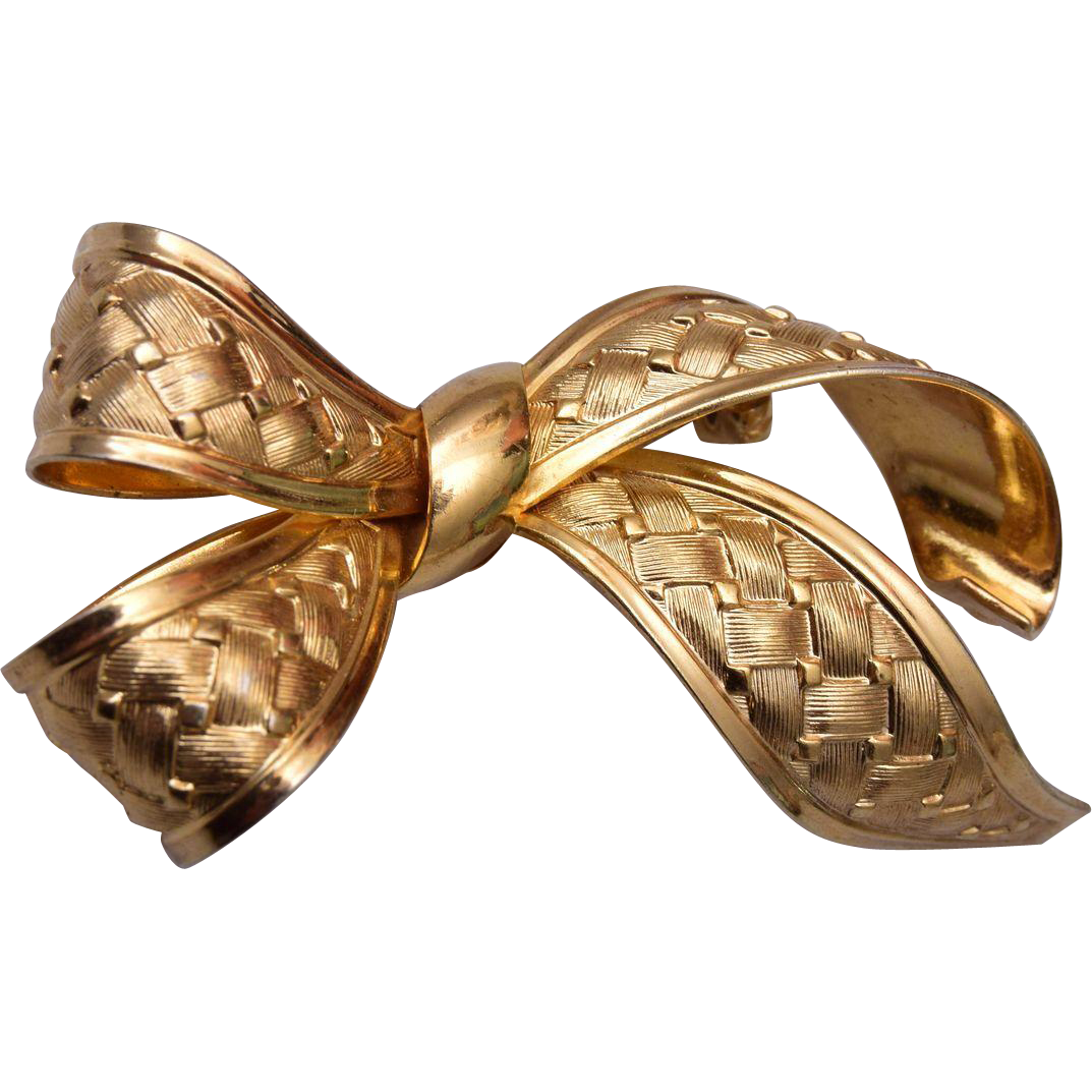 Henkel & Grosse 1968 Bow Brooch