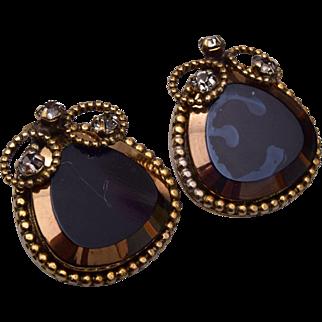 Robert Lustered Glass Earrings