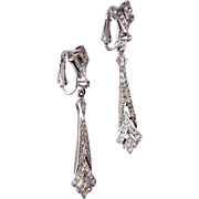 Polcini Beautiful Rhinestone Earrings