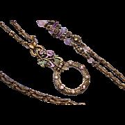 Sweet Romance USA Magnifying Pendant Necklace