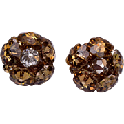 Vendome Rivoli Crystal Earrings
