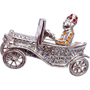 ORA Shriners Man and Car Brooch