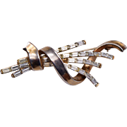 1949 Trifari Meteor Brooch by Alfred Philippe