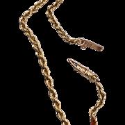 14kt Chain Bracelet