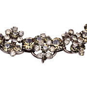 D&E Juliana 5 Link Bracelet in Black Diamond