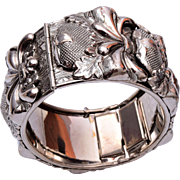 Whiting and Davis Hinged Bracelet