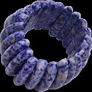 Blue Lapis Stretchy Bracelet