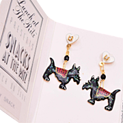 Lunch at the Ritz Doggy Snack Pierced Earrings