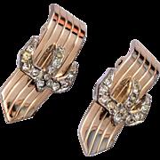 Marboux Rhinestone Earrings