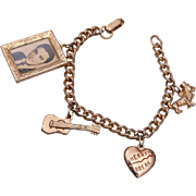Elvis Presley Charm Bracelet