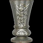 French Heavy Metal Memorial Garden - Cemetery Vase