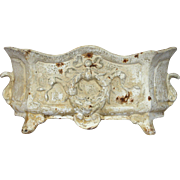 Early 1900s Cast Iron French Planter / Jardiniere
