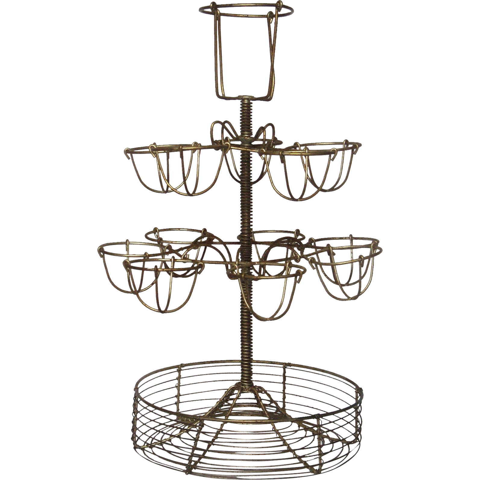 Vintage Wire Egg Stand From French Bistro From Yesterdaysfrance On Ruby Lane
