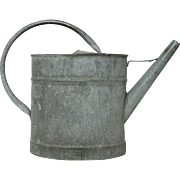 Charming Petite Zinc Watering Can / Pail from France