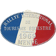 French Equestrian Award - 1969