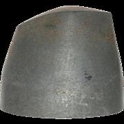 RARE Metal Hat Form/ Hat Block/ Millinery