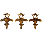 Aged French Decorative Metal Hooks