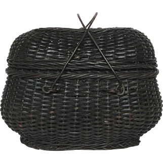 Petite French Woven Market Basket for Chicks