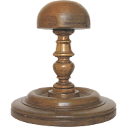 Very Vintage Wooden French Hat Stand