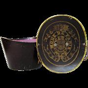 Vintage French Parisian Carton Hat Box for Top Hat