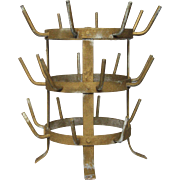 French Wine Bottle Drying Rack - Herisson